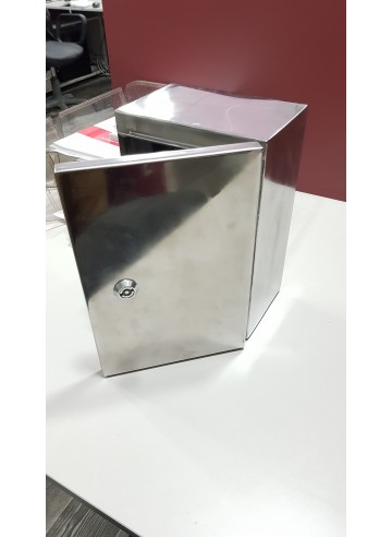 Wall-mounted wiring stainless steel cabinet Standel