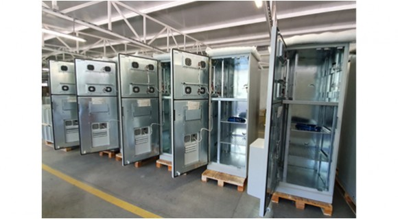 TECO team developed Outdoor climate cabinets for the Middle East and North Africa