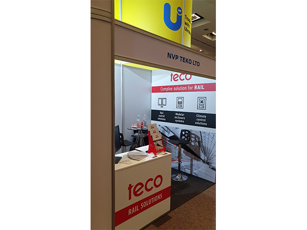 TECO participated in the Africa Rail exhibition in South Africa Johannesburg