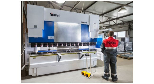 Increasing the production capacity of the enterprise (expansion of the sheet metal bending area)