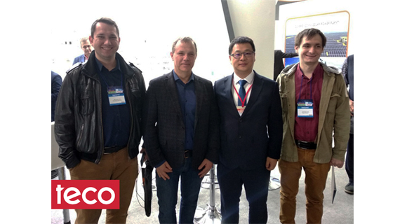 TЕСО team visited the annual international exhibition ElcomUkraine 2019