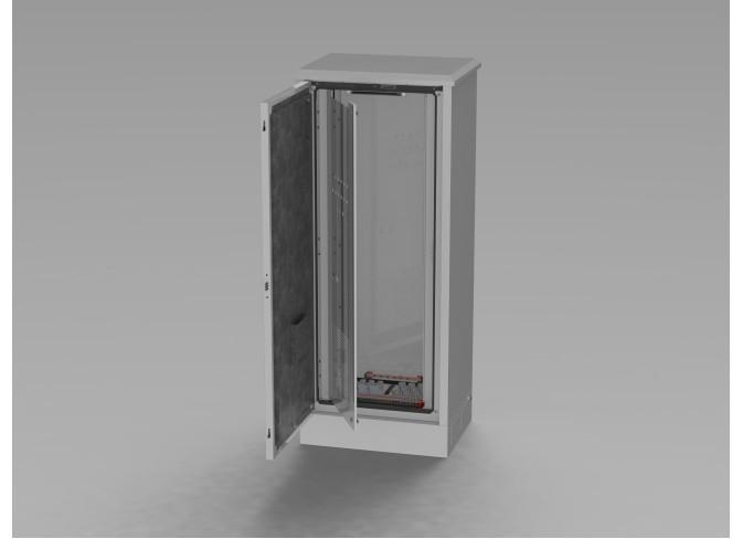 Power transformer (autotransformer) cooling system upgrade